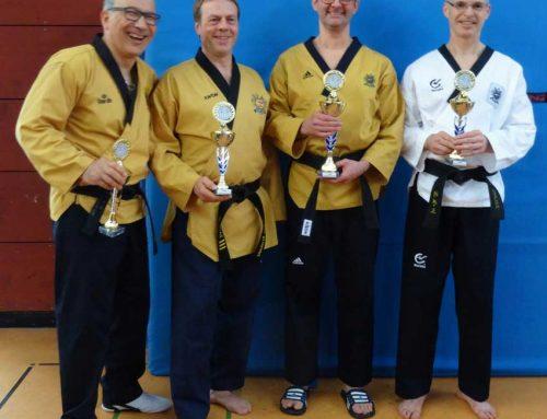 Erfolgreicher Taekwondo-Sportler